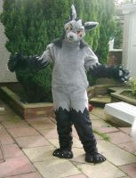 Mightyena Fursuit