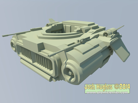 Vehicle-thing vray by AtomicTerrier