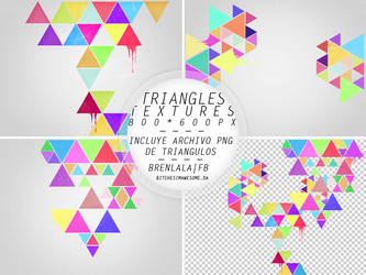 Triangles Textures by BitchesImAwesome