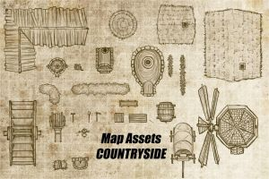 Map Assets-Country side by gogots