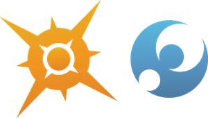 Pokemon Sun and Moon rendered logos by RSC-Cooper-Inc