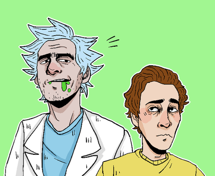 Rick n Morty by tightdemo