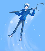 Jack Frost for Huevember by kemiobsesses