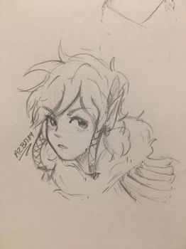 Link Doodle  by Ailizerbee08