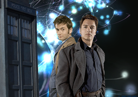 The Doctor and Jack Harkness by Elodidy