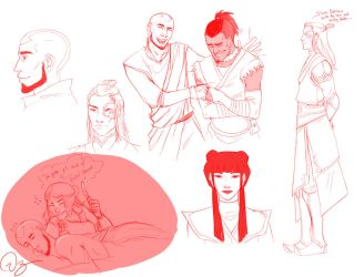 Avatarded Sketches by palnk