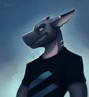 Teeth [Commission] by ItsWolven