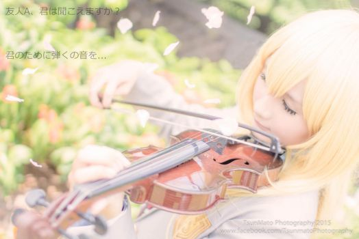 [Your Lie in April] - Miyazono Kaori by YamadaPeter