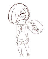 Doodle::chibi.Iris by Rayne-Is-Butts