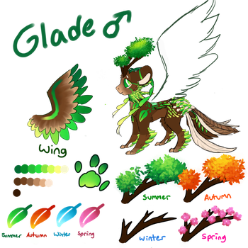 Glade ~ Final Reference Sheet by Wintercat96