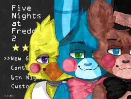#REDRAW#Five nights at freddy's 2 by JeffyWW