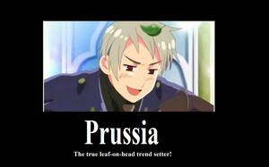 hetalia Prussia motivational by XEPICTACOSx