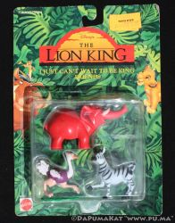 Lion King - I just can't wait to be king figures by dapumakat