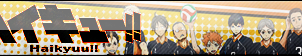Haikyuu!! Fan Button by cloudwolfanime