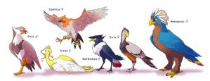 Pokemon Bird Team