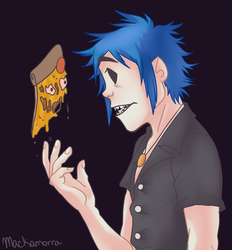 Gorillaz Are Back by Tea-cup-kitty