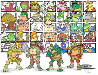 Tmnt...Turtle Power by 12for12