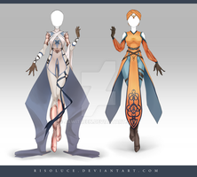 (CLOSED) Adoptable Outfit Auction 162-163 by JawitReen