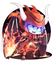 WL Return: Chibi Darkflame by LillinApocalypse