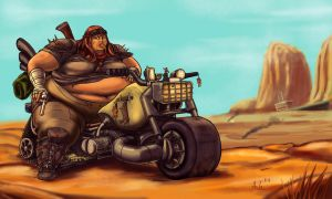 Wasteland Rider by Ray-Norr