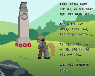 We Will Remember Them by TheEditorMLP