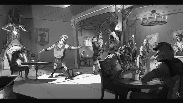 School Project - The inn of thieves by RominHood