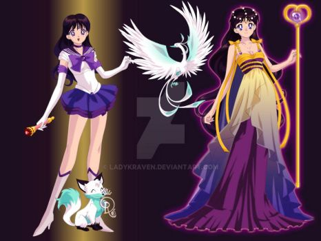 Guinevere scout and princess form by ladykraven