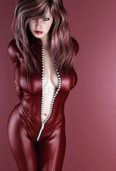 red suit by SaphireNishi