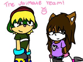 The ultimate team. XD by x-cookii-pop-x