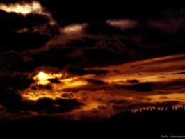 Burning Clouds by HateCrewGirl