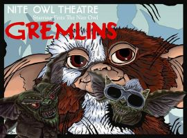 Gremlins by monsterartist