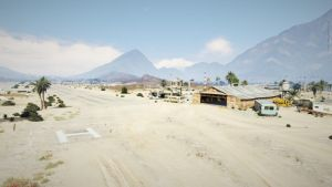 Grand Theft Auto: V Sandy Shores Airfield by AboveTheLawHD