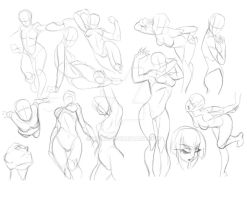 more poses :D by xong