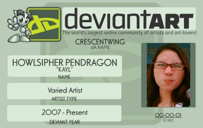dA Unofficial ID by CrescentWing