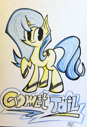 Comet Tail request by Pelate by ULTRADJ4EVER