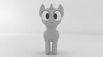 Chibi Mare Rig Template - Turntable (GIF) by Hexedecimal