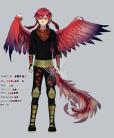 Adopt Auction: Red Kite Drapax [OPEN] by NIkly