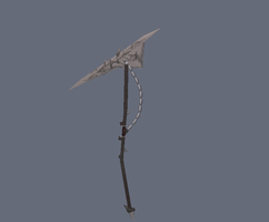 scythspear 3d model Scythform by Kyotita