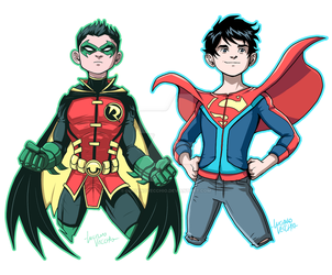 Super Sons by LucianoVecchio