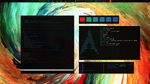 Archlinux Xmonad December 21 by KniRen