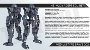 NB-M201 ADEPT SQUIRE by TurinuZ