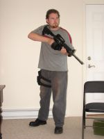 Dale with Guns Stock by Tensen01