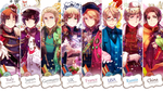 Hetalia Beautiful World Jackets by Cioccolatodorima