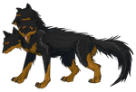 Cerberus: RayvnCrescent by IcyPheonix