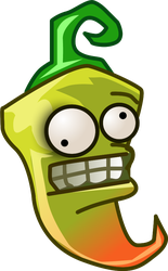 Plants vs Zombies 2 pickled-pepper(All-star) (R) by illustation16