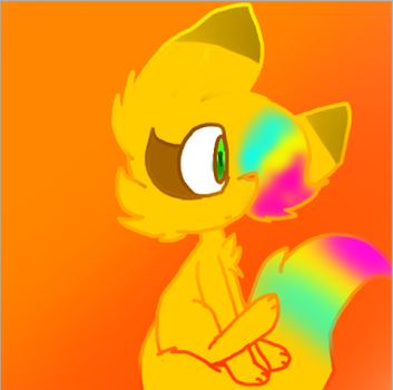Skittles furry form by skittles6677