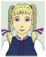 Braided Pigtails Melian by Magictron3000