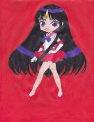Sailor Mars by ilovepinkhair