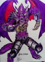 Chaos Lord Wolfwing by ss2195