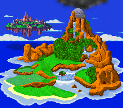 Sonic the Hedgehog South Island Redux by The-Russian-Gestapo